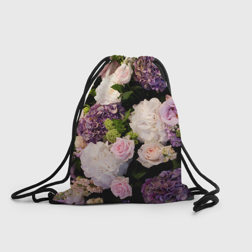 Рюкзак-мешок 3D Цветы
