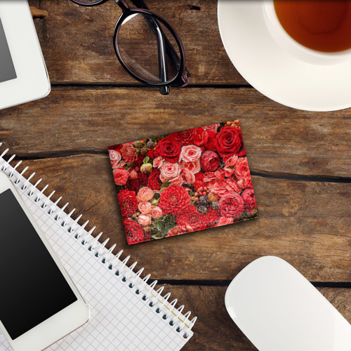 Обложка для студенческого билета  Фото 03, Цветы