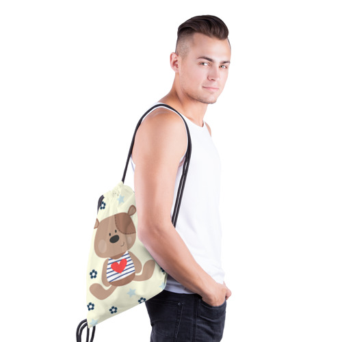 Рюкзак-мешок 3D  Фото 03, Мишка