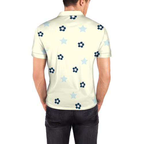 Мужская рубашка поло 3D Мишка Фото 01