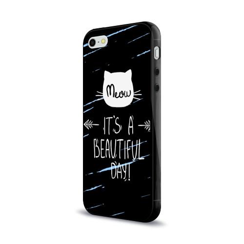 Чехол для Apple iPhone 5/5S силиконовый глянцевый  Фото 03, Прекрасный день