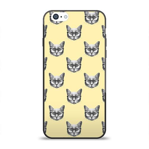 Чехол для Apple iPhone 6 силиконовый глянцевый Котик от Всемайки