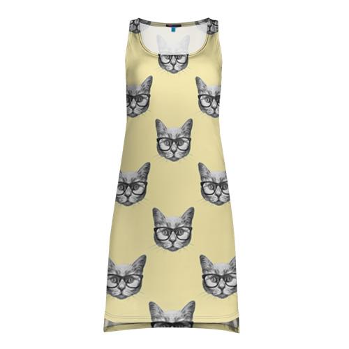 Платье-майка 3D Котик