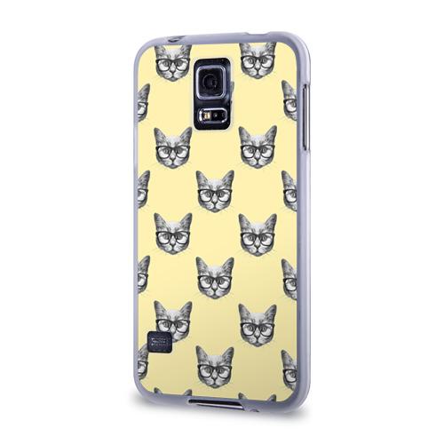 Чехол для Samsung Galaxy S5 силиконовый  Фото 03, Котик