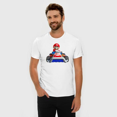 Мужская футболка премиум  Фото 03, Super Mario
