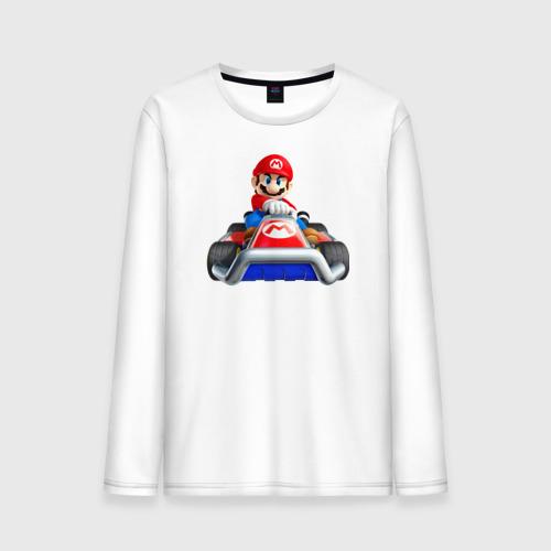 Мужской лонгслив хлопок  Фото 01, Super Mario