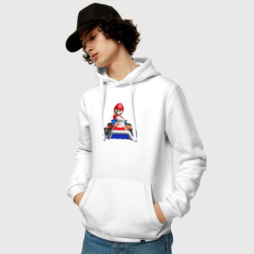 Мужская толстовка хлопок  Фото 03, Super Mario