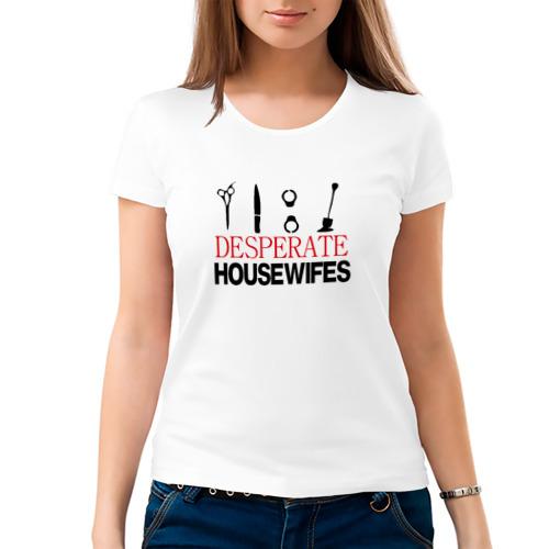Женская футболка хлопок  Фото 03, Отчаянные домохозяйки
