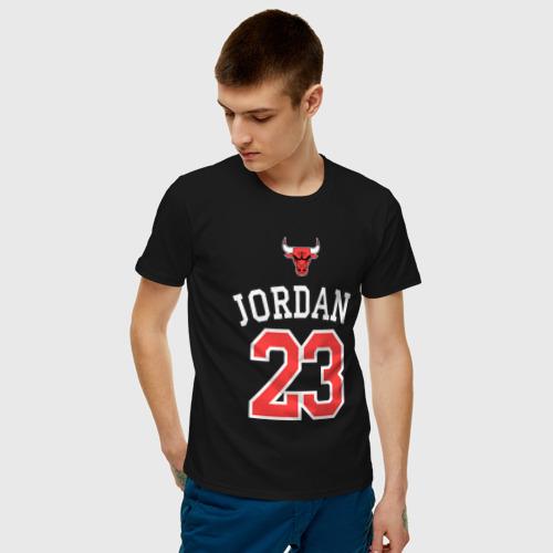 Мужская футболка хлопок Jordan Фото 01
