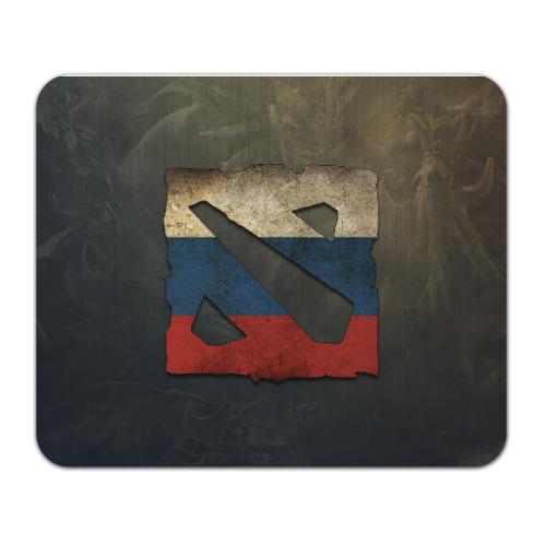 Коврик прямоугольный Коврик Dota 2 logo Russia от Всемайки