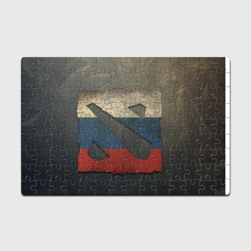 Пазл магнитный 126 элементов  Фото 01, Коврик Dota 2 logo Russia