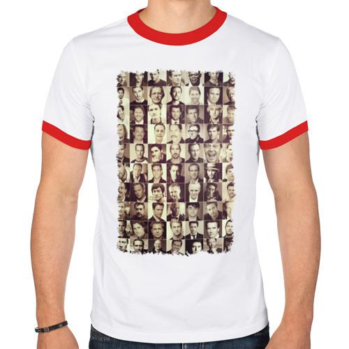 Мужская футболка рингер  Фото 01, Звёзды кино (1)