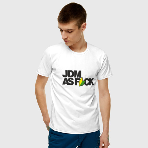 Мужская футболка хлопок  Фото 03, JDM AS F*CK