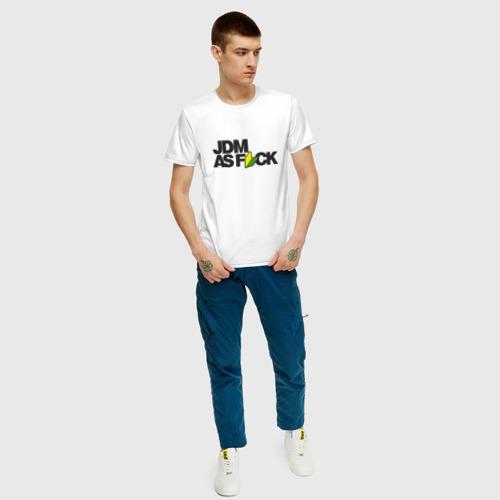Мужская футболка хлопок  Фото 05, JDM AS F*CK