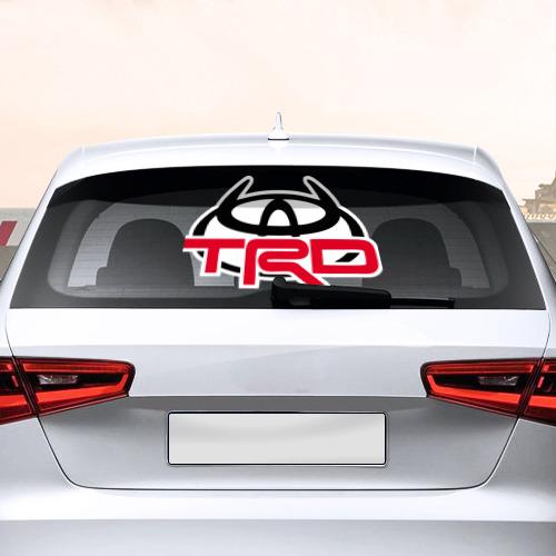 Наклейка на авто - для заднего стекла  Фото 02, Toyota