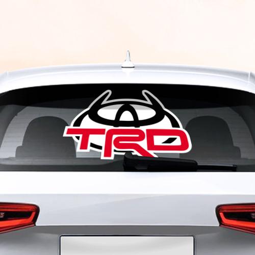 Наклейка на авто - для заднего стекла  Фото 01, Toyota