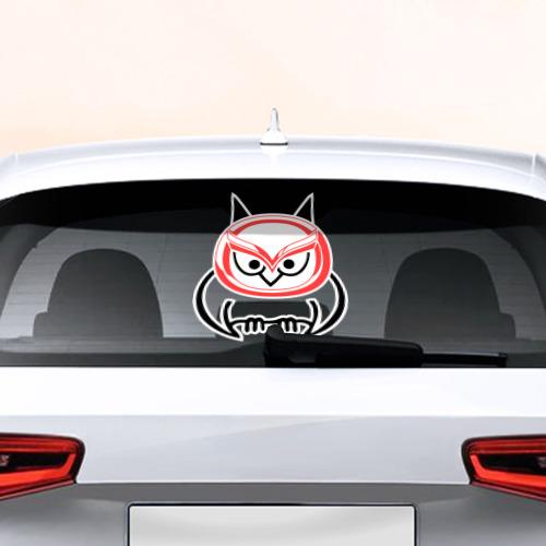 Наклейка на авто - для заднего стекла Mazda
