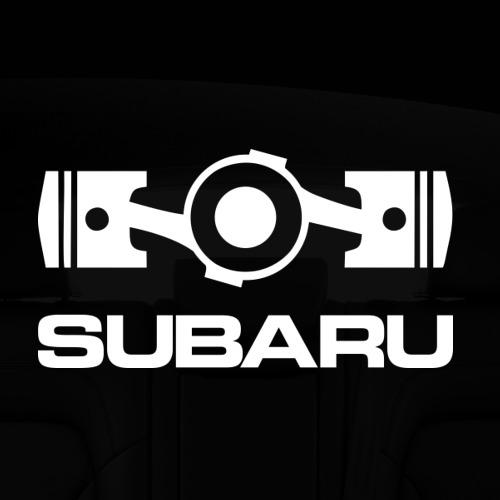Наклейка на авто - для заднего стекла Subaru Фото 01