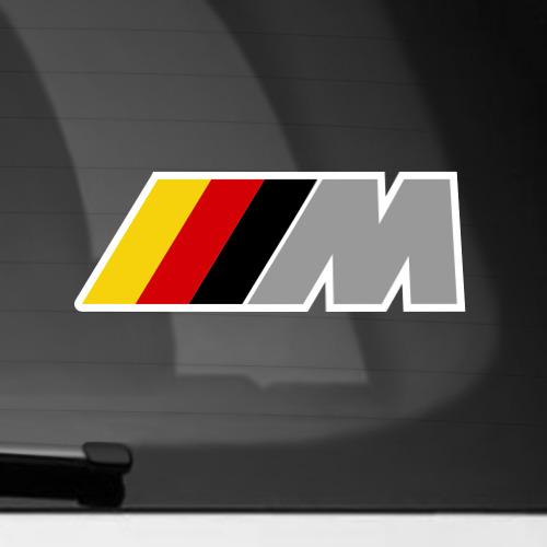 Наклейка на автомобиль BMW