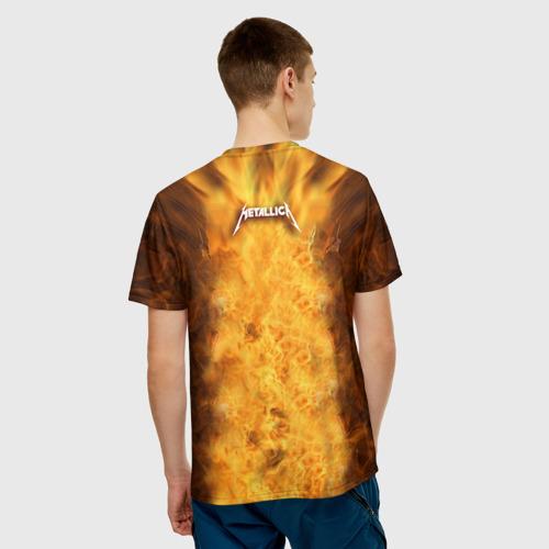 Мужская футболка 3D METALLICA Фото 01