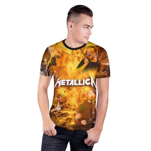 Мужская футболка 3D спортивная METALLICA Фото 01