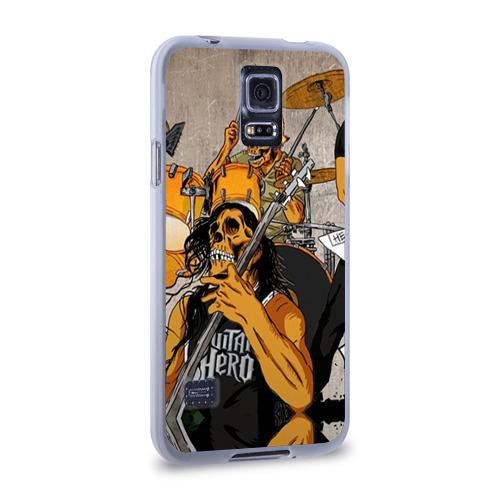 Чехол для Samsung Galaxy S5 силиконовый  Фото 02, METALLICA