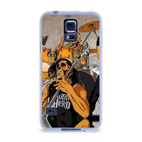 Чехол для Samsung Galaxy S5 силиконовый  Фото 01, METALLICA
