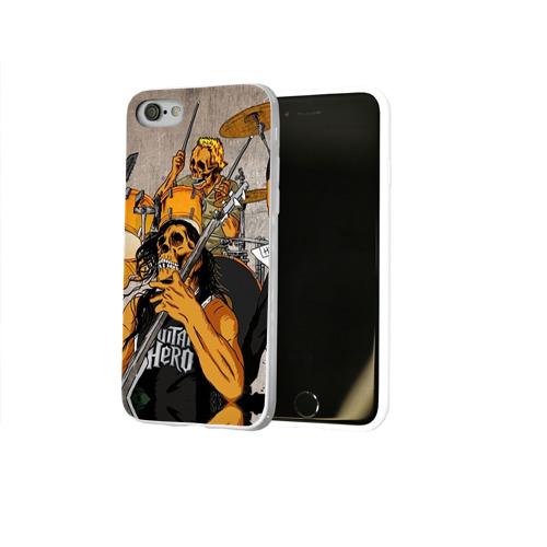 Чехол для Apple iPhone 8 силиконовый глянцевый  Фото 02, METALLICA