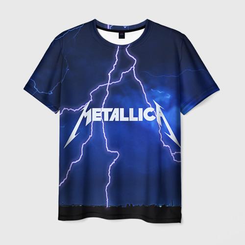 Мужская футболка 3D METALLICA