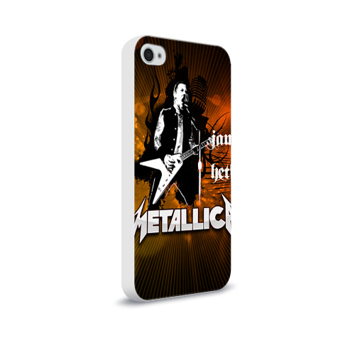 Чехол для Apple iPhone 4/4S soft-touch  Фото 02, METALLICA