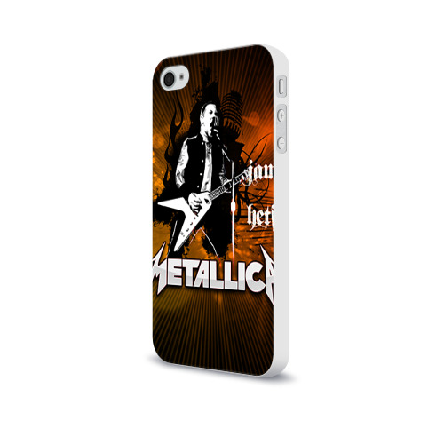 Чехол для Apple iPhone 4/4S soft-touch  Фото 03, METALLICA