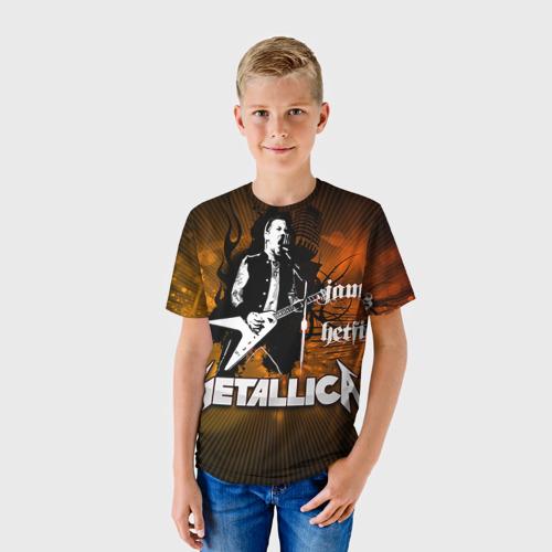 Детская футболка 3D METALLICA