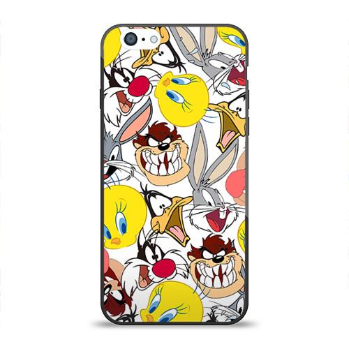 Чехол для Apple iPhone 6 силиконовый глянцевый Bugs Bunny от Всемайки