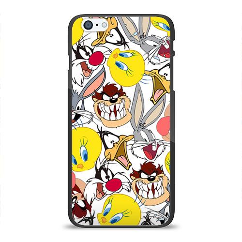 Чехол для Apple iPhone 6/6S Plus силиконовый глянцевый Bugs Bunny от Всемайки