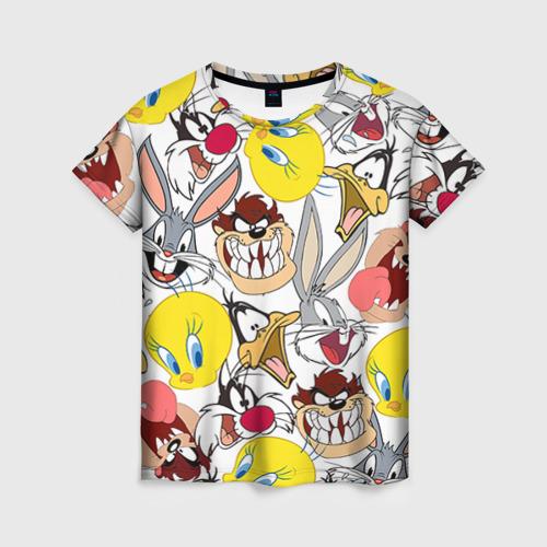 Женская футболка 3D Bugs Bunny от Всемайки