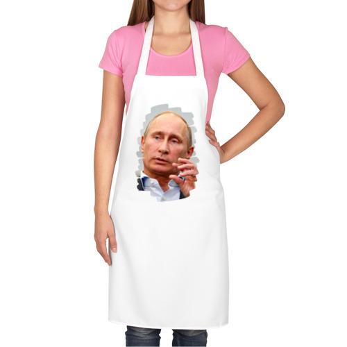 Фартук белый  Фото 02, У Путина свой подход ко всему