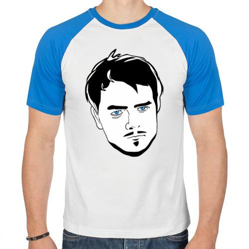 Мужская футболка реглан ETOZHEMAD от Всемайки