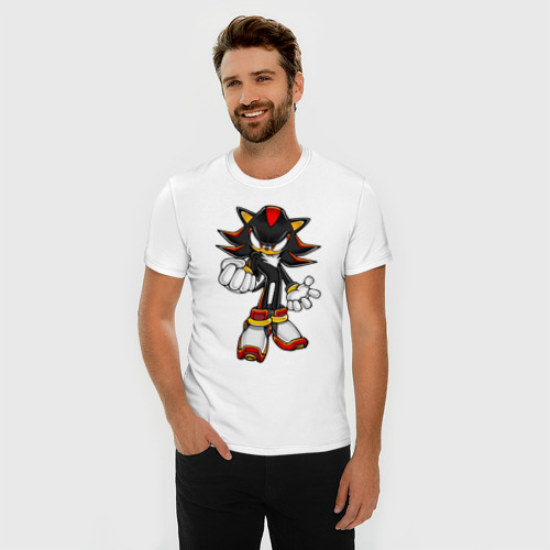 Мужская футболка премиум  Фото 03, Sonic Shadow
