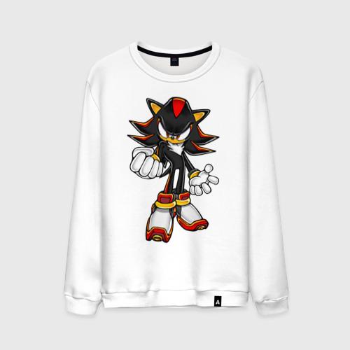 Мужской свитшот хлопок  Фото 01, Sonic Shadow