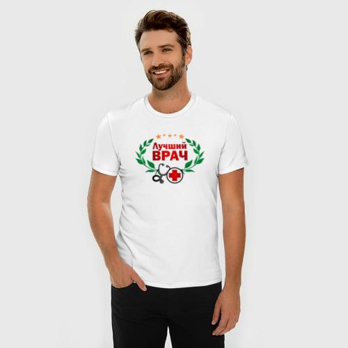 Мужская футболка премиум  Фото 03, Лучший врач