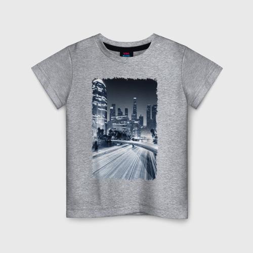 Детская футболка хлопок Ночной город Фото 01