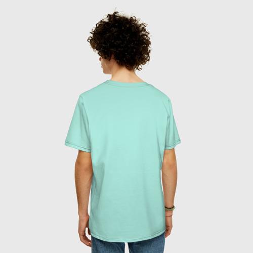 Мужская футболка хлопок Oversize Ночной город Фото 01