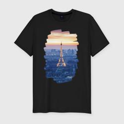 Светящаяся Эйфелева башня