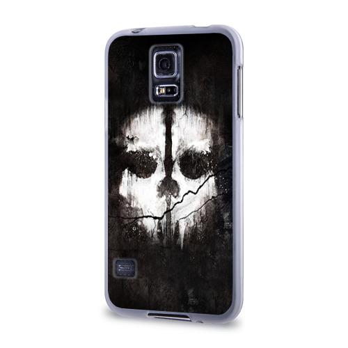 Чехол для Samsung Galaxy S5 силиконовый  Фото 03, Call of Duty