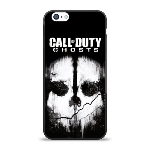 Чехол для Apple iPhone 6 силиконовый глянцевый Call of Duty Фото 01
