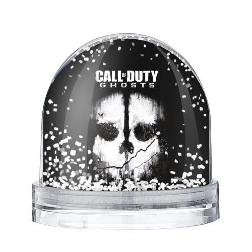 Водяной шар со снегом Call of Duty
