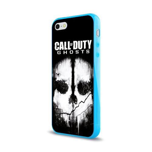 Чехол для Apple iPhone 5/5S силиконовый глянцевый Call of Duty Фото 01