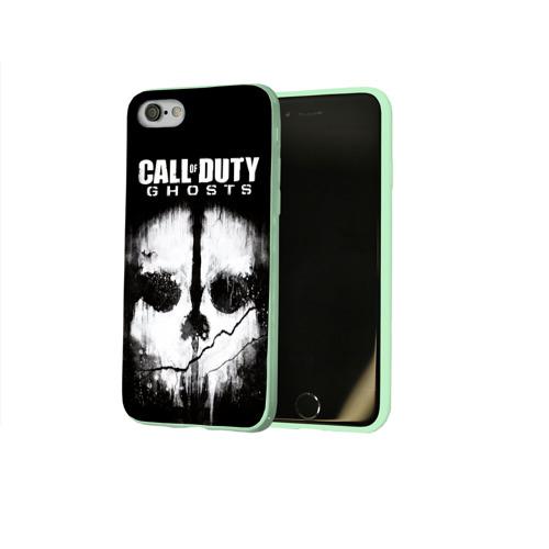 Чехол для Apple iPhone 8 силиконовый глянцевый Call of Duty Фото 01
