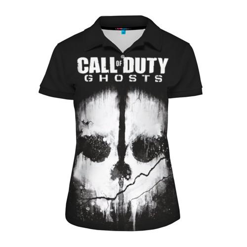 Женская рубашка поло 3D Call of Duty