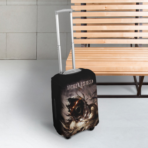 Чехол для чемодана 3D Disturbed Фото 01